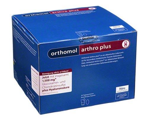 Orthomol arthro plus инструкция по применению