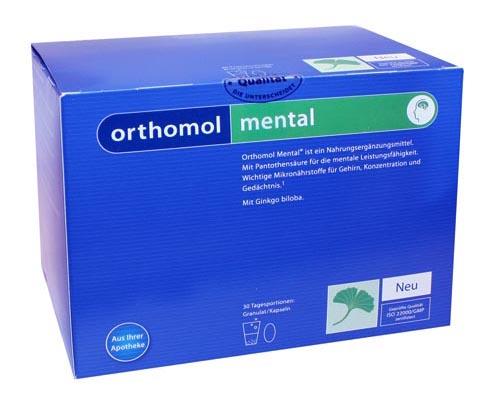 Orthomol Mental Инструкция По Применению img-1