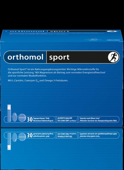 витамины Ортомол спорт омега 3 для спортсменов